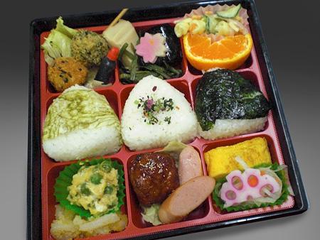 9仕切り弁当(上)
